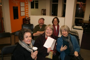 George and the Edgewood Writers at Milepost 5